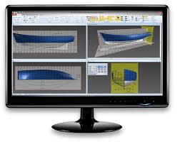 Free Wooden Boat Design Software by Delftship Free