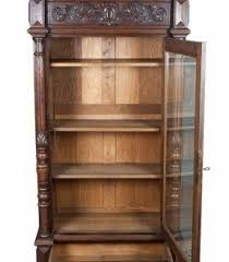 Oak Bookcases With Glass Doors Barrister Bookcase With Glass Doors Brilliant Oak Bookcases Foter
