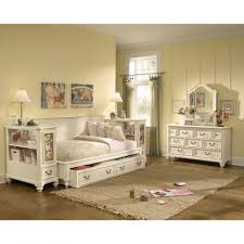 Zayley Bookcase Bedroom Set Bedroom Captivating Full Size Daybed With Trundle For Bedroom
