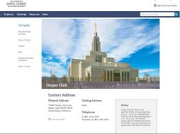 Lds Temples Map New Policy Prioritizes Family Time At Temples Church News And Events