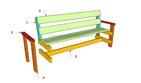 Building A Garden Bench Seat How To Build A Garden Bench Howtospecialist How To Build Step