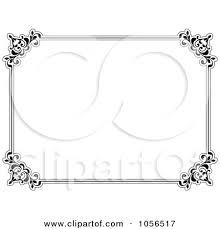 document frame document frames clipart