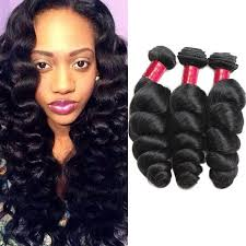 pics of loose wave hair 10a brazilian remy hair loose wave 3pcs mink human hair weave