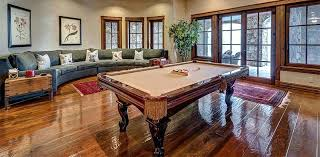 how much space is needed for a pool table space needed pool table add the best for home use to your game room