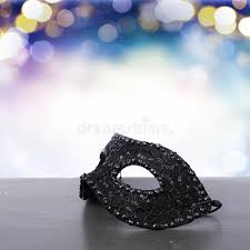 mask decorations mask with masquerade decorations stock image image 85109365