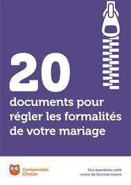 dossier mariage civil tã lã charger mariage téléchargez et imprimez nos documents