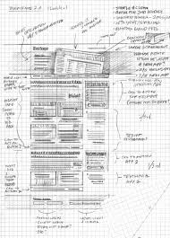 20 examples of web and mobile wireframe sketches
