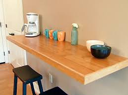 wall mounted kitchen counter video diy