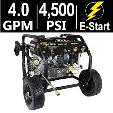 lifan hydro pro series 4 500 psi 4 0 gpm ar tri plex pump electric