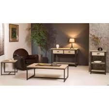 canapé industriel bouts de canapes tables et chaises bout de canapé industriel lea