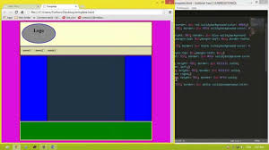 css tutorial layout template how to create template website by using code html and css tutorial
