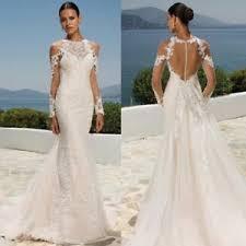 halter neck wedding dresses halter neck bridal wedding dresses mermaid sleeves chapel