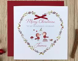 love christmas card etsy