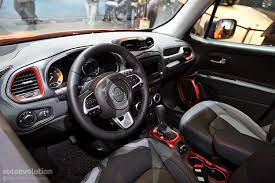 jeep renegade 2014 interior 2015 jeep renegade bows in geneva live photos autoevolution