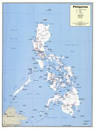 Map Scales Maps Of Philippines Detailed Map Of Philippines In English