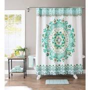Cloth Shower Curtains Fabric Shower Curtains