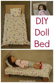 how to make american girl doll bed diy american girl doll bed coffee cups and crayons