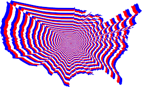 Us Map Outline Clipart Red White And Blue Us Map Outline Zoom