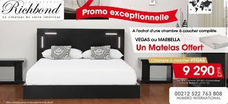 richbond matelas chambre coucher a l achat d une chambre à coucher complète vargas ou marbella un