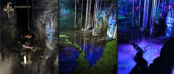 dark room murals turn in glowing wonders fropky