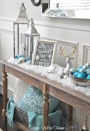 White Christmas Mantel Decorations by Most Fabulous Blue Christmas Decorating Ideas Christmas Celebrations