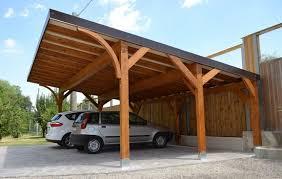 tettoia auto legno tettoia posto auto sufficiente la dia