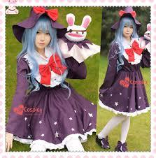 Elf Halloween Costume Aliexpress Buy Live Yoshino Witch Elf Cosplay Dress