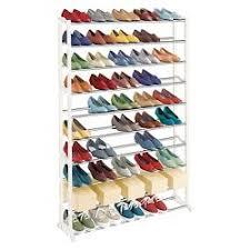 30 pair shoe cabinet lynk 30 pair shoe rack 10 tier shoe shelf organizer white target
