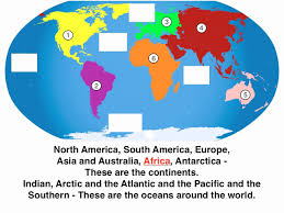 best collections of diagram world map continents and oceans new