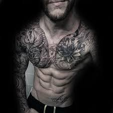 30 best chest tattoos for タトゥー と 好き