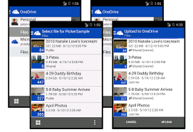 onedrive app for android file picker sdk for android onedrive onedrive dev center