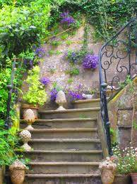 free images nature lawn old staircase summer decoration