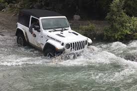 jeep water more exclusive photos and videos of the 2018 jeep wrangler in