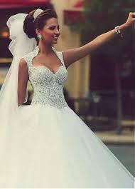 discount bridal gowns eye catching tulle satin neckline gown wedding