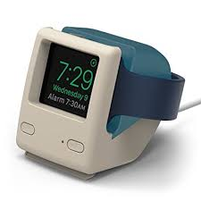 amazon black friday apple watch amazon com elago w4 stand aqua blue vintage 1998 design