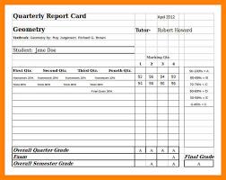 report card template pdf 11 report card template pdf format of notice