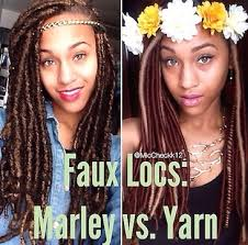 faux dreads with marley hair marley v yarn faux locs which is best voice of hair