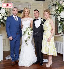 hello wedding dress exclusive catherine tyldesley takes hello inside