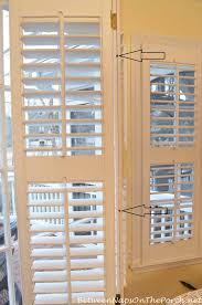 Wooden Plantation Blinds How To Tighten Or Repair Loose Louvers On Interior Plantation Shutters