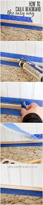 caulking kitchen backsplash 30 beadboard kitchen backsplash tutorial house bath and kitchens