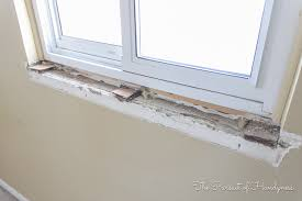 Window Sill Inspiration Cool Window Sill Inspiration With Diy Window Sill And Trim My