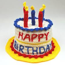 Crochet Spot Blog Archive Crochet Pattern Birthday Cake Hat