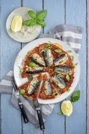 cuisiner des sardines fraiches recette tarte marinara aux sardines
