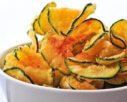recette de cuisine courgette recette chips de courgette