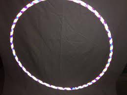 helix led hoop highly reflective opal performance hula hoop led hula