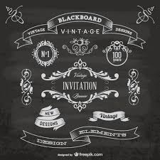 free vector art images graphics for free download blackboard anniversary graphic elements vector free download