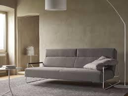 canapé lit roset canapé lit en tissu avec repose tête janus by ligne roset design