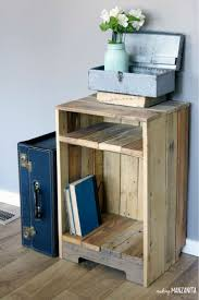 best 25 wood side tables ideas on pinterest reclaimed wood side