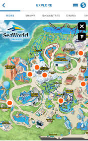 Universal Park Map Seaworld Park Map Theme Park U0026 Attractions Map Seaworld Orlando
