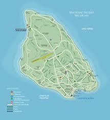 map of mackinac island exploring mackinac lake view hotel